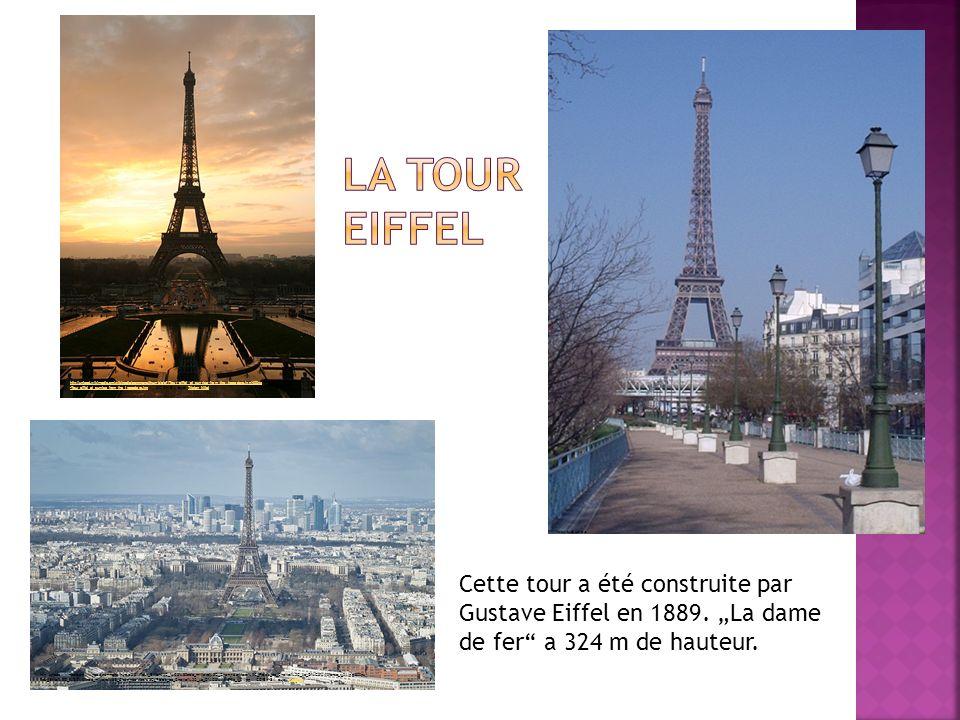 Cette tour a été construite par Gustave Eiffel en 1889.