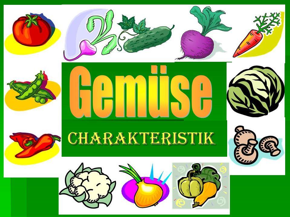   Gemüse ist ein wichtiger Bestandteil der menschlichen Ernährung.