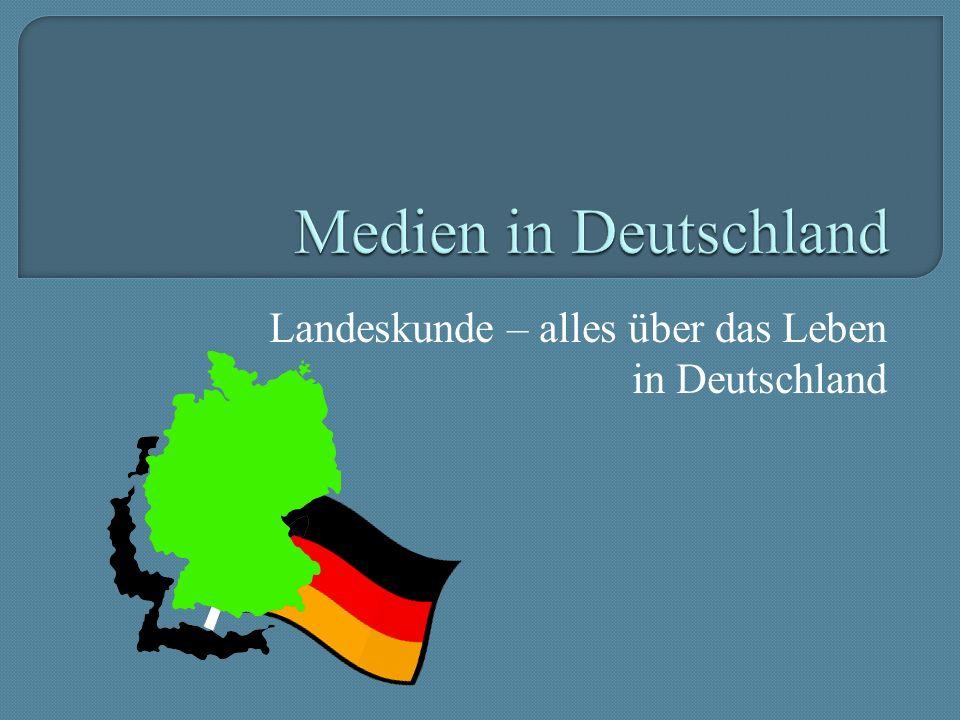 Landeskunde – alles über das Leben in Deutschland