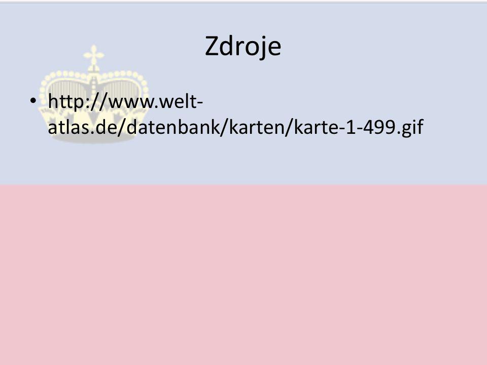 Zdroje http://www.welt- atlas.de/datenbank/karten/karte-1-499.gif