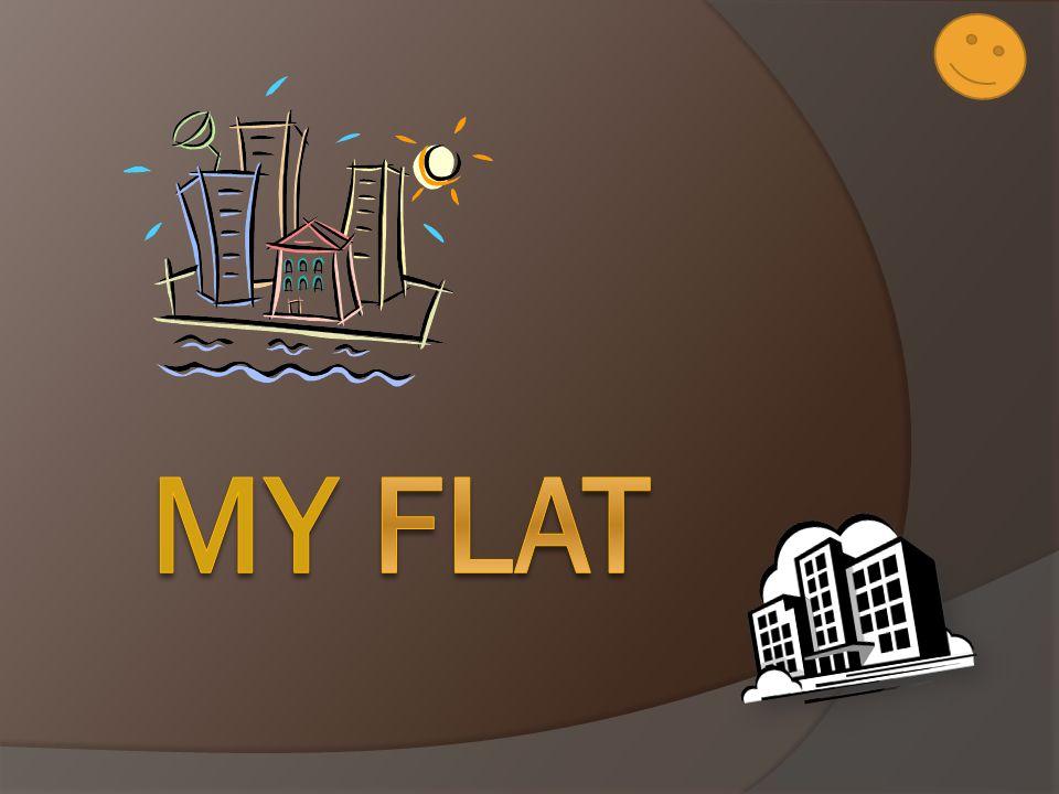 I live in Krom ěř íž.I live in a block of flats. My flat isn t small nor big.