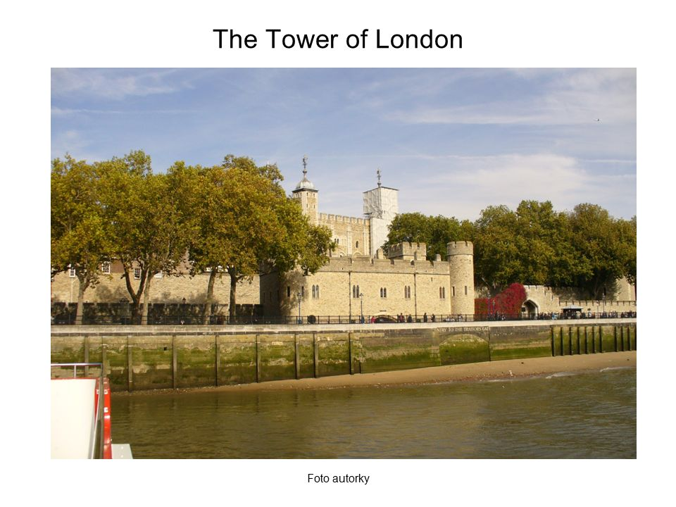The Tower of London – a model Foto autorky