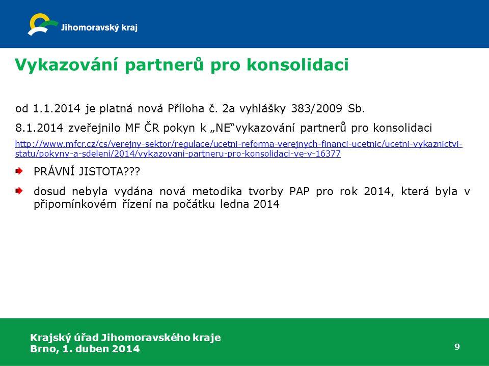 Krajský úřad Jihomoravského kraje Brno, 1.