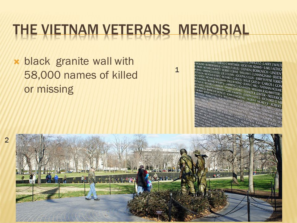  black granite wall with 58,000 names of killed or missing 2 1