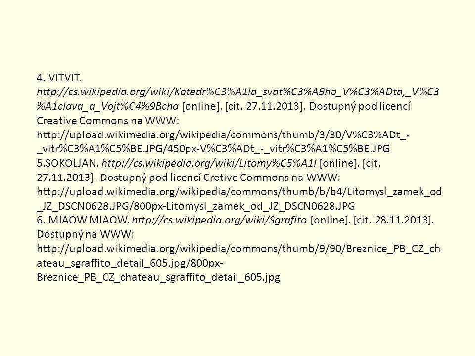 Zdroje Zvuky: MS Office Obrázky: MS Office; 1. BLANULAK. http://commons.wikimedia.org/wiki/File:RotundaRip.jpg [online]. [cit. 27.11.2013]. Dostupný p
