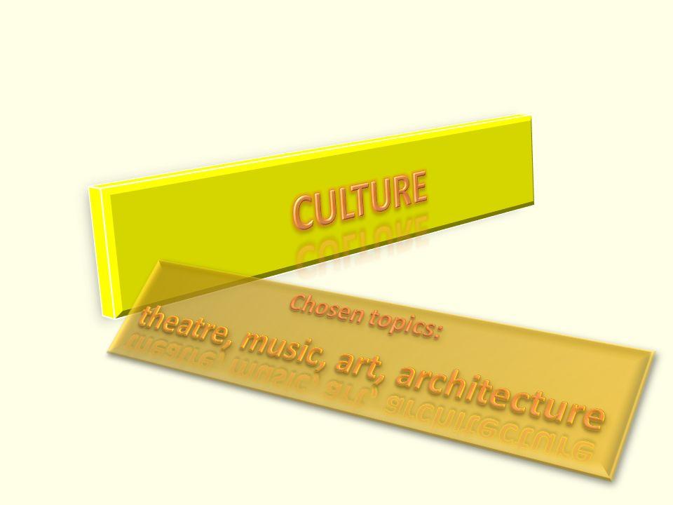 """ANOTACE Prezentace """"Culture"""" je určena k opakování a přípravě k maturitní zkoušce z anglického jazyka zejména pro žáky septimy, oktávy, třetích a čtvr"""