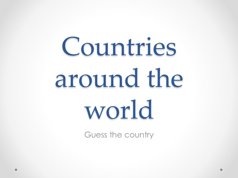 It´s the sixth biggest country in the world and the smallest continent.