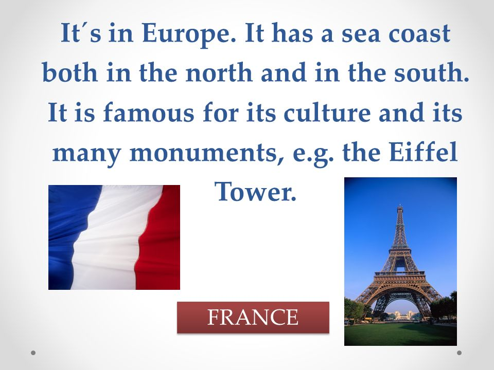 It´s the largest country in the world.It is situated partly in Europe and partly in Asia.