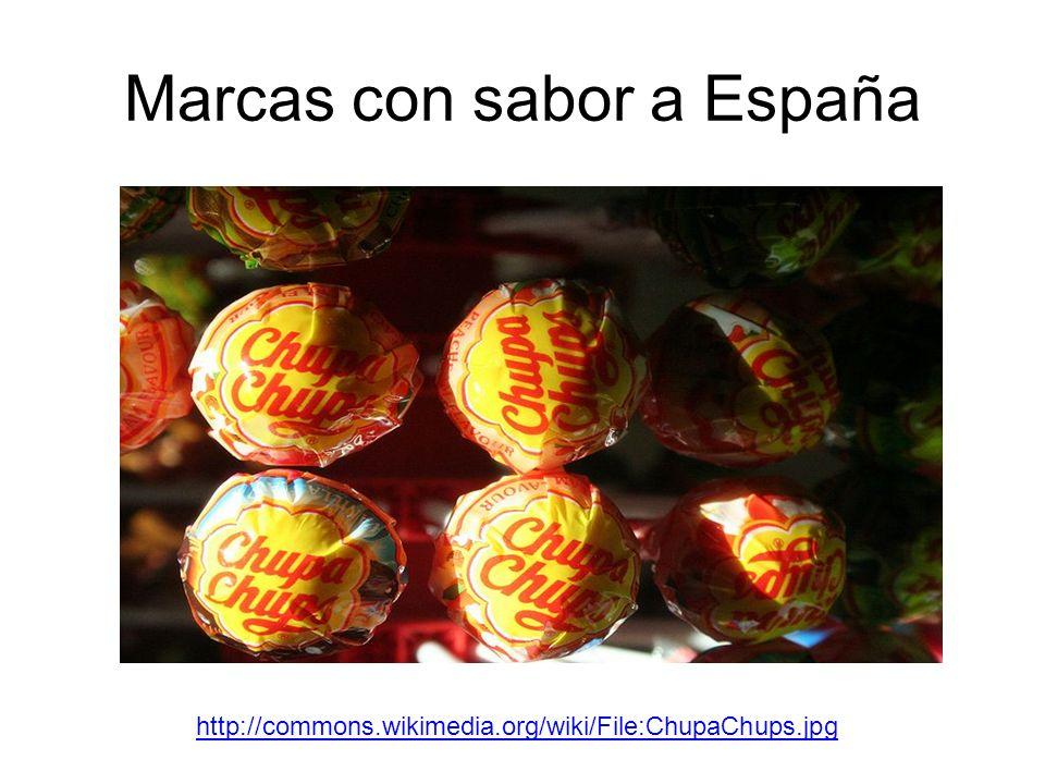 Marcas con sabor a España http://commons.wikimedia.org/wiki/File:ChupaChups.jpg