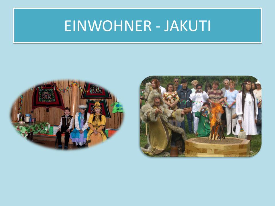 EINWOHNER - JAKUTI