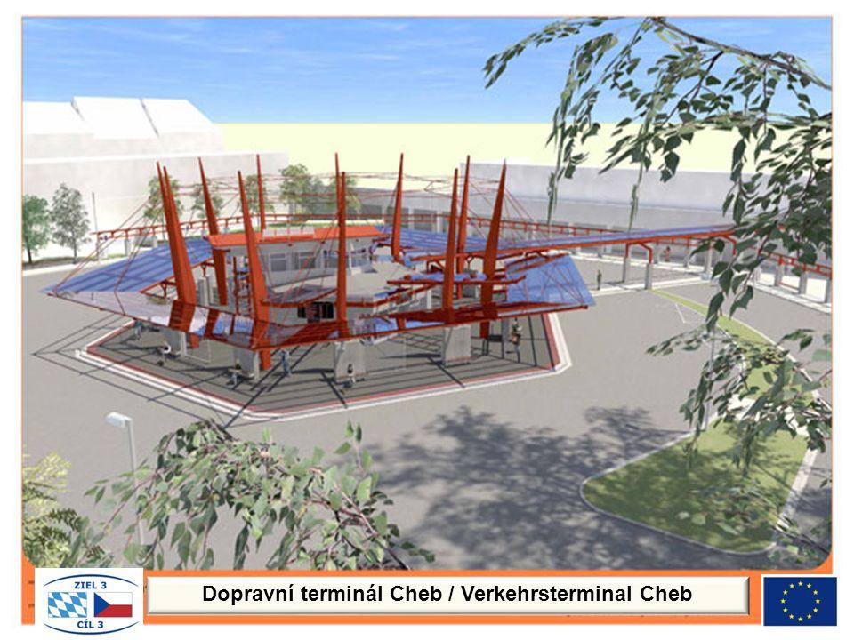 Dopravní terminál Cheb / Verkehrsterminal Cheb