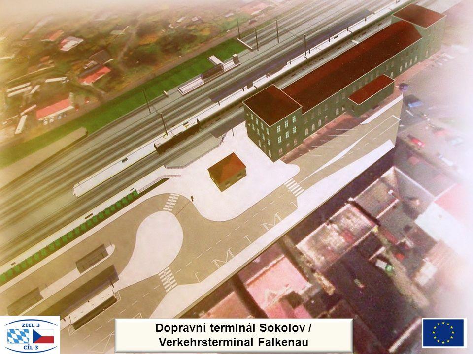Dopravní terminál Sokolov / Verkehrsterminal Falkenau