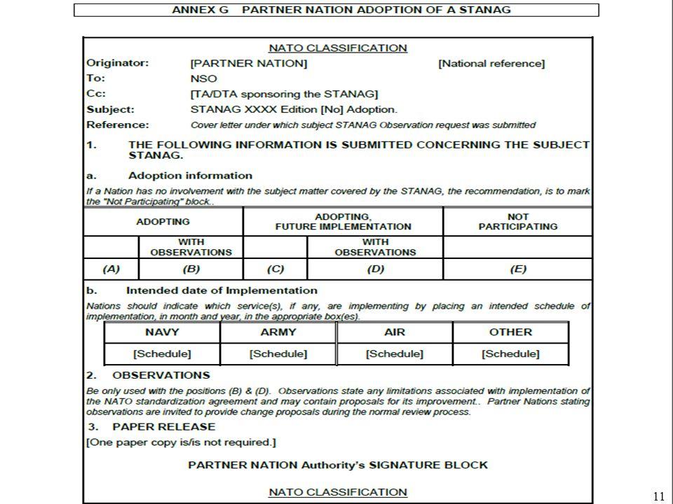 Úřad pro obrannou standardizaci, katalogizaci a státní ověřování jakosti Odbor obranné standardizace 11