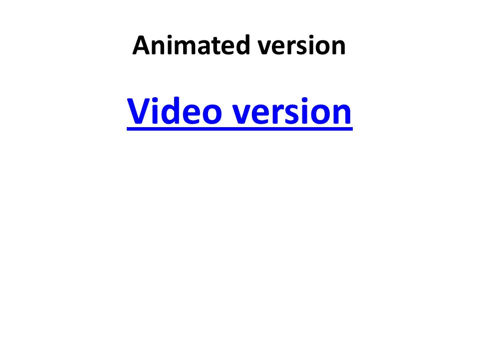 Animated version Video version
