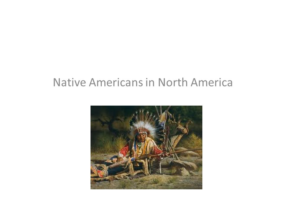 Native Americans in North America