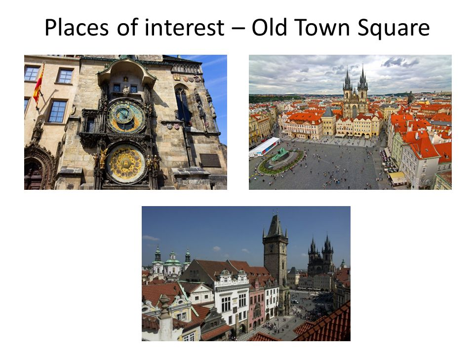 Places of interest – Old Town Square