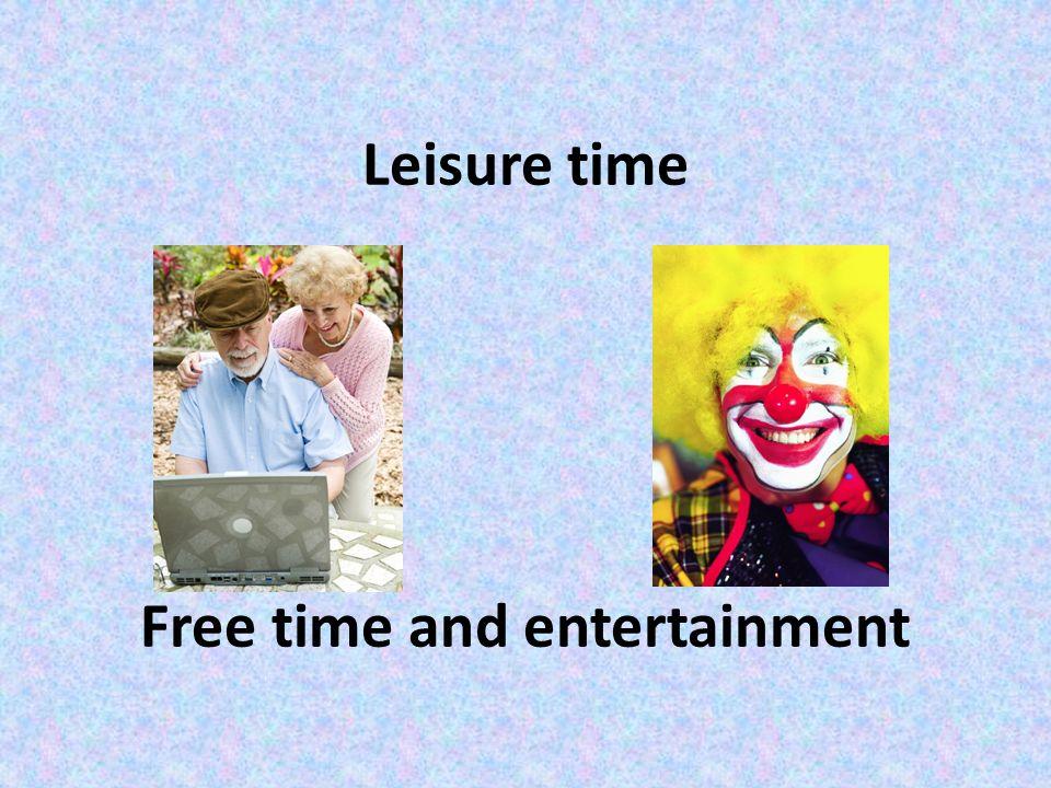 """ANOTACE Prezentace """"Leisure time"""" je určena k opakování a přípravě k maturitě z anglického jazyka pro žáky septimy, oktávy, třetích a čtvrtých ročníků"""
