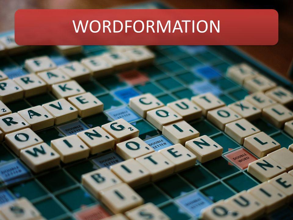 WORDFORMATION