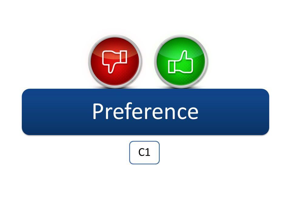 Preference C1