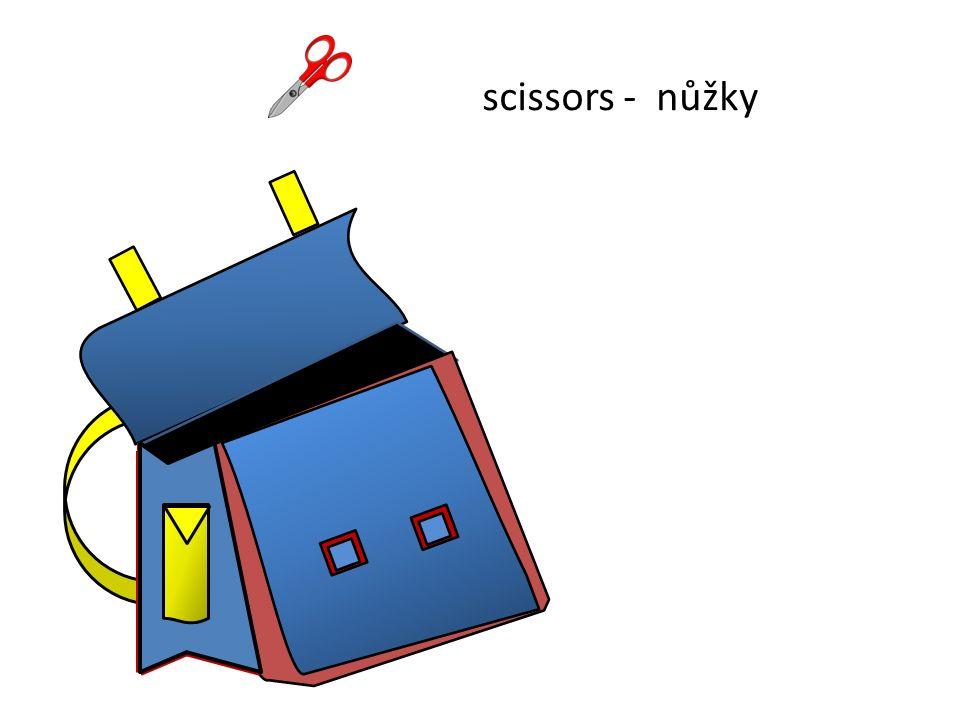 nůžkyscissors -