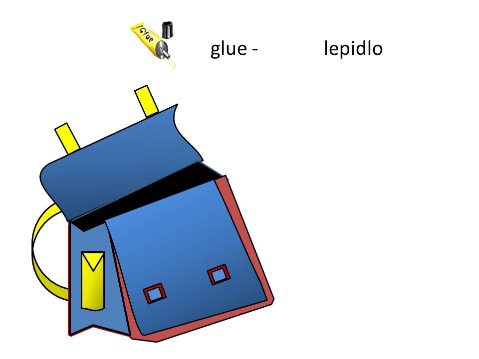 glue -lepidlo