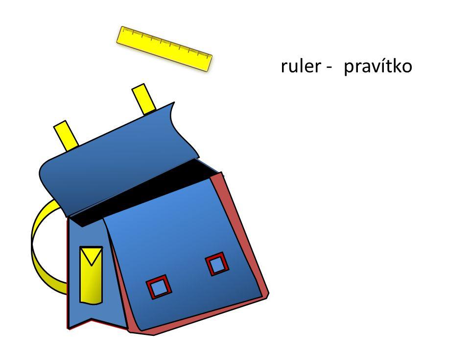 pravítkoruler -