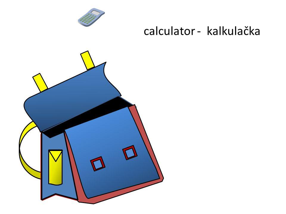 kalkulačkacalculator -