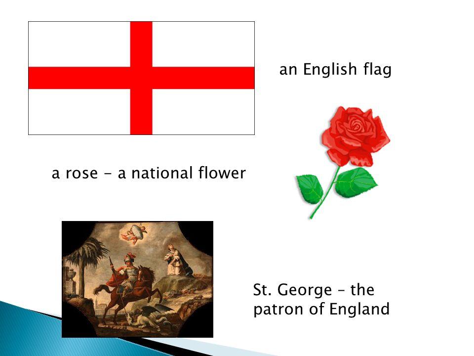 CAPITAL FLAG FLOWER PATRON SAINT ENGLAND COMPLETE SCOTLAND NORTHERN IRELAND WALES