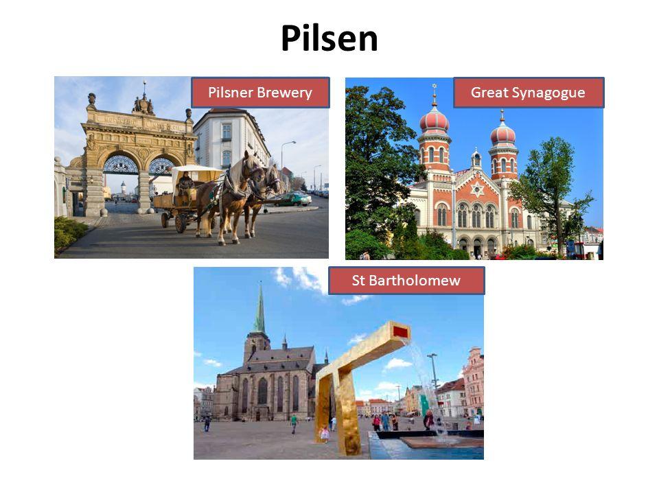 Pilsen Pilsner BreweryGreat Synagogue St Bartholomew