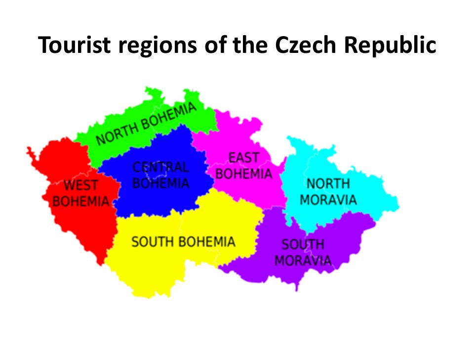 Tourist regions of the Czech Republic