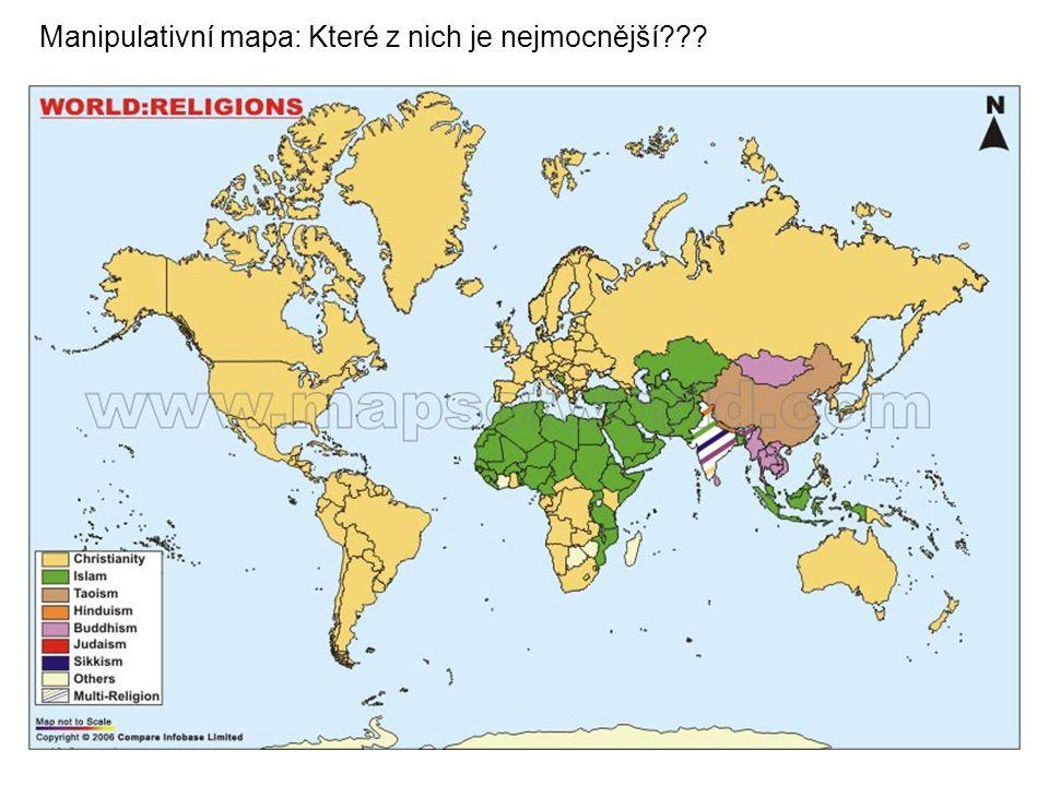Manipulativní mapa: Které z nich je nejmocnější???