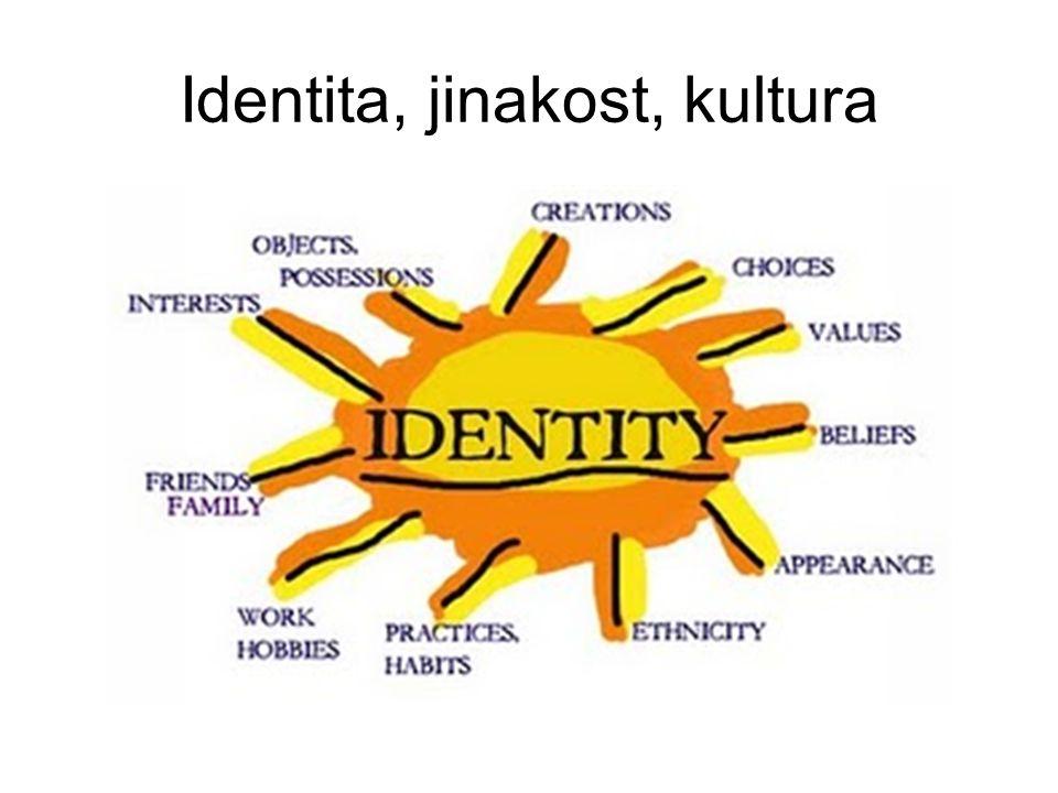 Identita, jinakost, kultura