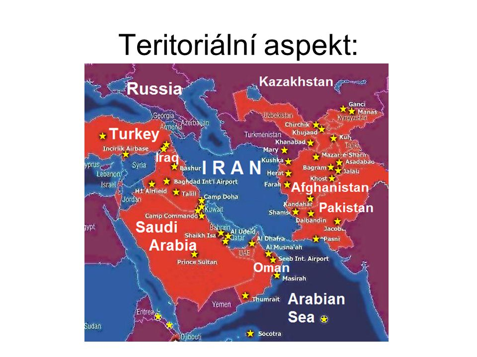Teritoriální aspekt: