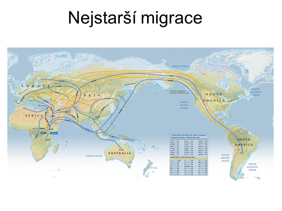 Nejstarší migrace