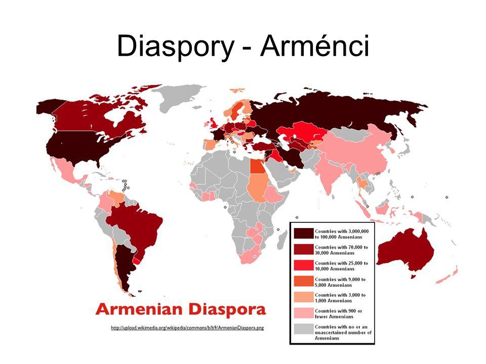 Diaspory - Arménci