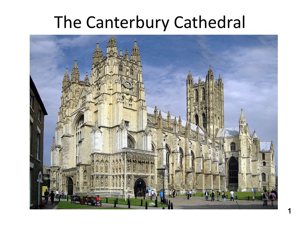 The Canterbury Cathedral 1