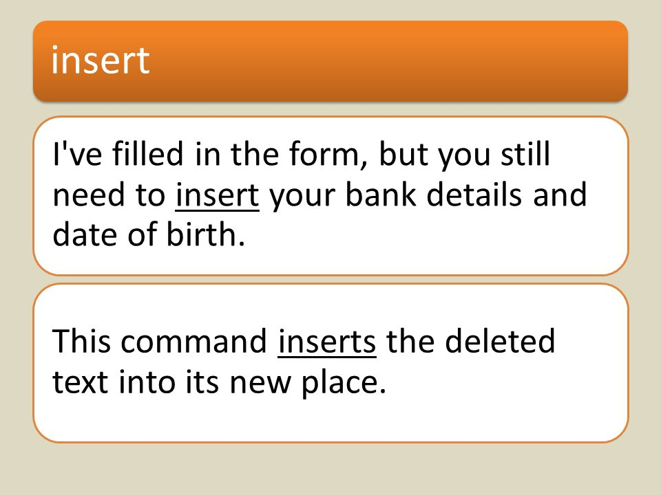 insert I ve filled in the form, but you still need to insert your bank details and date of birth.