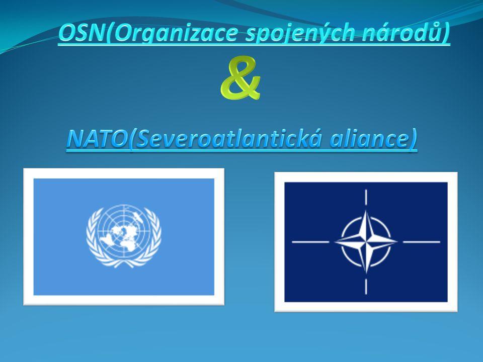 OSN-základní informace  Předchůdce: Společnost národů  Vznik: 26.