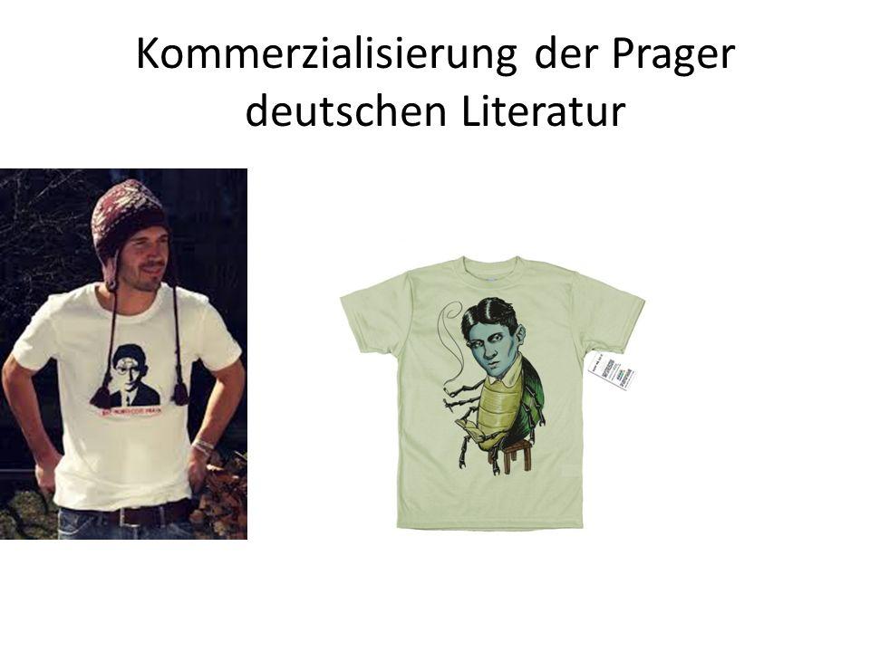 Kommerzialisierung der Prager deutschen Literatur