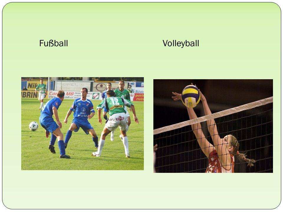 Fußball Volleyball