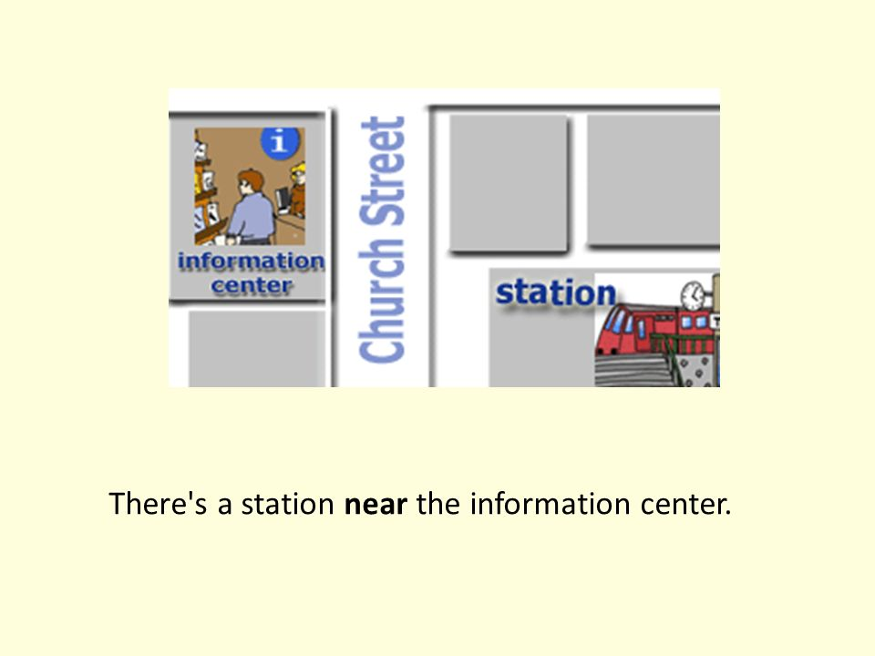 There s a station near the information center.