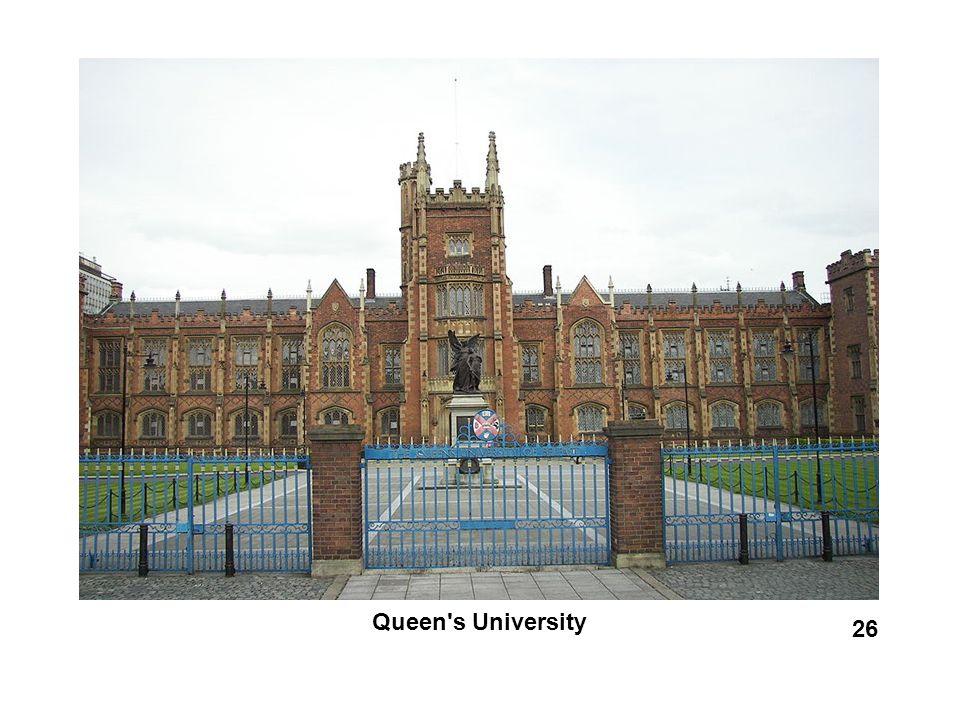 Queen's University 26