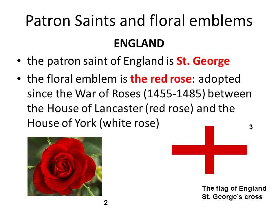 Patron Saints and floral emblems Scotland the patron saint of Scotland is St.