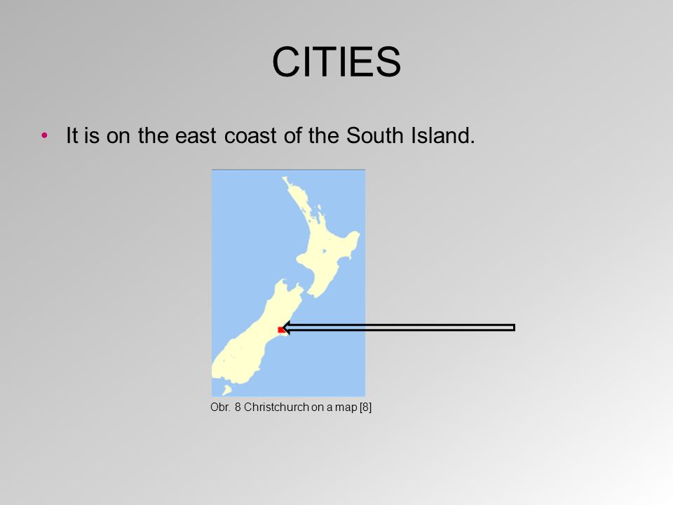 CITIES Dunedin is the second largest city on the South Island.