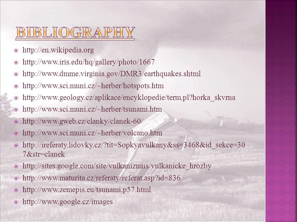  http://en.wikipedia.org  http://www.iris.edu/hq/gallery/photo/1667  http://www.dmme.virginia.gov/DMR3/earthquakes.shtml  http://www.sci.muni.cz/~