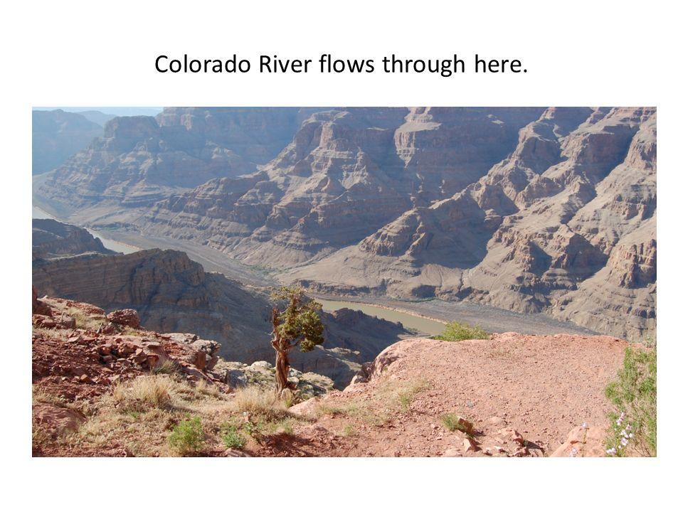 Colorado River flows through here.
