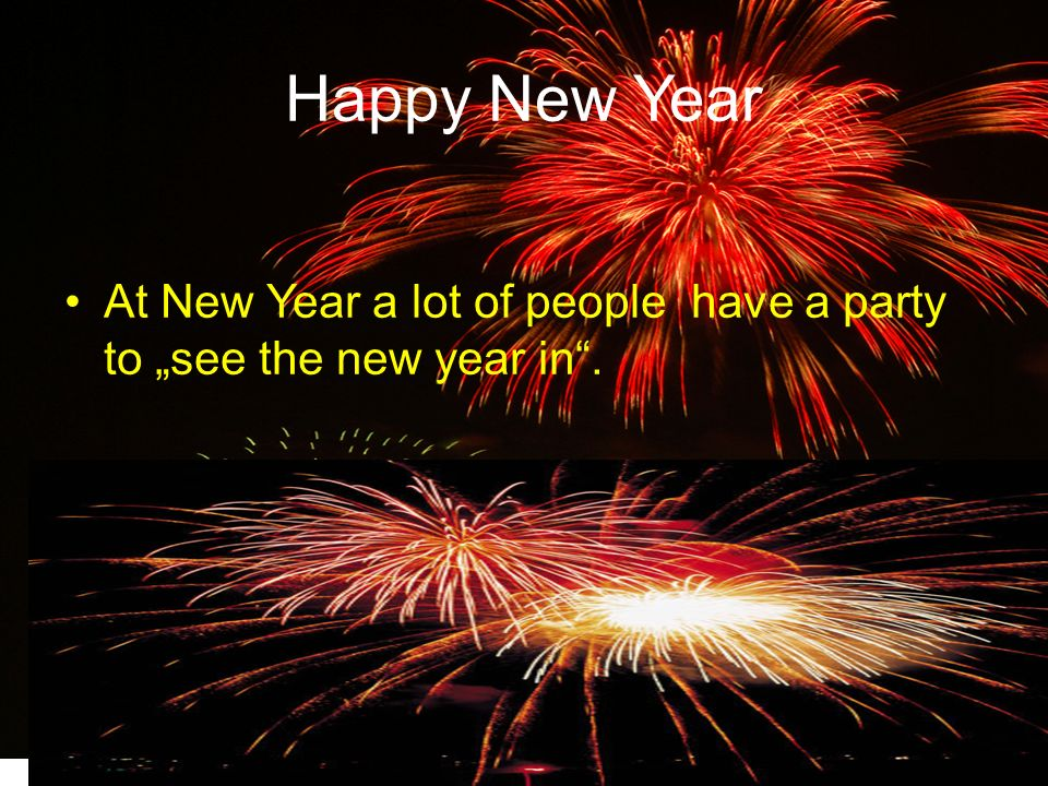 """At midnight they joint hands and sing """" AULD LANG SYNE ."""