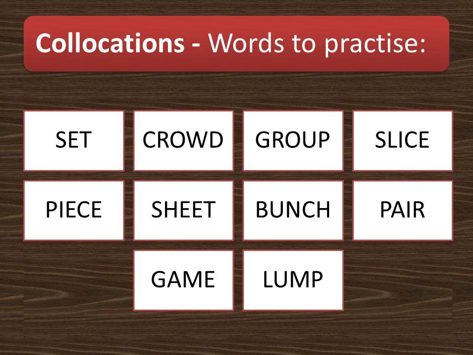 Groups of animals - Words to practise: HERDSHOALPACK SWARMFLOCK