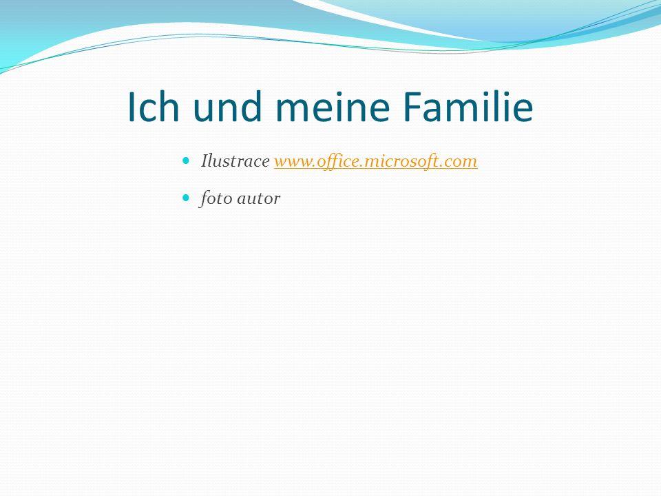 Ich und meine Familie Ilustrace www.office.microsoft.comwww.office.microsoft.com foto autor