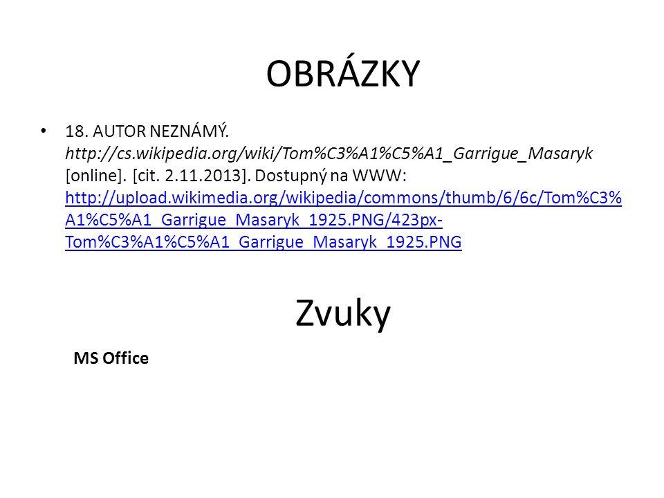 OBRÁZKY 15. MORAVEC, Hynek. http://cs.wikipedia.org/wiki/Slapy [online]. [cit. 2.11.2013]. Dostupný pod licencí Creative Commons na WWW: http://upload